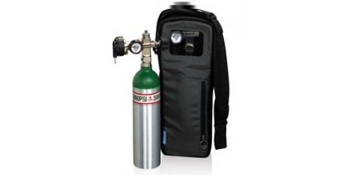 Sac de transport Respironics pour cylindre d'oxygène